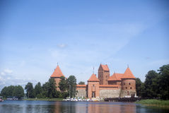 Castle, Trakai, Lithuania Royalty Free Stock Photography