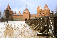Castle in Trakai, Lithuania Stock Images