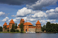 Castle, Trakai, Lithuania. Royalty Free Stock Photos
