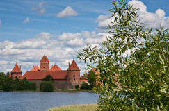 Castle, Trakai, Lithuania. Royalty Free Stock Images