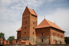 Castle in Trakai, Lithuania Royalty Free Stock Photo