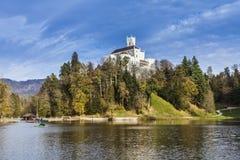 Castle Trakoscan in Croatia Royalty Free Stock Photos