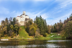 Castle Trakoscan in Croatia Royalty Free Stock Photo