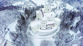 Castle Trakoscan in Croatia stock video
