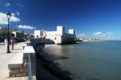 Castle of trani Stock Photo