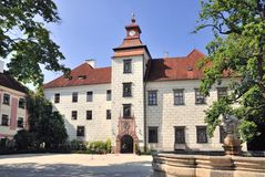 Castle Trebon, Czech Republic Royalty Free Stock Photos