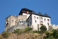 Castle in Trencin - Slovakia Stock Photography