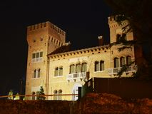 Castle in Treviso, Italy Stock Images