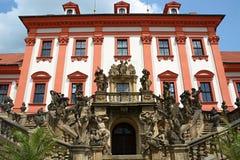 Castle Troja (στην Πράγα) Στοκ φωτογραφία με δικαίωμα ελεύθερης χρήσης