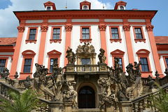 Castle Troja (in Prague) Royalty Free Stock Photography