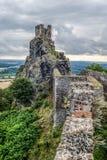 Castle Trosky Royalty Free Stock Photo