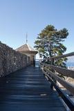 Castle Trsat in Rijeka, Croatia Royalty Free Stock Photography