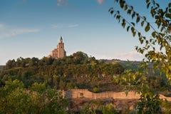 Castle. Tsarevets Castle - Veliko Turnovo, Bulgaria Stock Photography