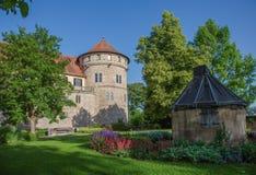Castle tuebingen Στοκ φωτογραφία με δικαίωμα ελεύθερης χρήσης