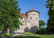 Castle tuebingen stock photography