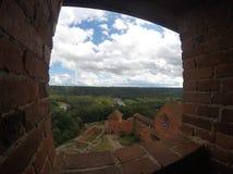 Turaida castle in sigulda - latvia stock images