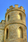 Castle Turret. A castle located on the outskirts of the historic city of Bath, England Stock Photo