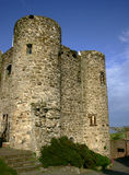Castle Turret. English Castle Turret againsy blue sky Royalty Free Stock Images