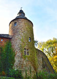 Castle turret, ancient castle Royalty Free Stock Photo