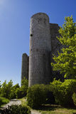 Castle Turret, Bargeme, The Var, France Royalty Free Stock Image