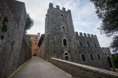 Castle in Tuscany Stock Images