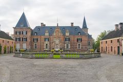Castle of Twickel, Delden, the Netherlands royalty free stock photography