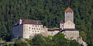 Castle Tyrol Royalty Free Stock Photography
