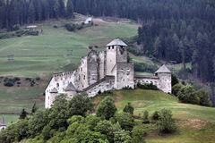 Castle in Tyrol Royalty Free Stock Photos