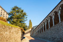 The castle of Udine Stock Photography