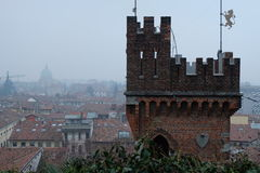 Castle, Udine, Italy. Castle in Udine, Italy and city Royalty Free Stock Image