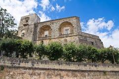 Castle of Ugento. Puglia. Italy. Stock Image