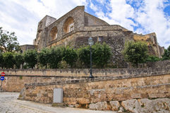 Castle of Ugento. Puglia. Italy. Stock Images