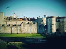 Castle UK Britain British English England Britain Royalty Free Stock Photo