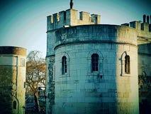 Castle UK Britain British English England Britain historical Royalty Free Stock Photography
