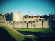 Castle UK Britain British English England Britain historical Stock Photos