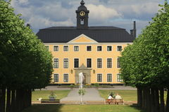 A castle. Ulriksdal is located in the Royal National City Park and was built in the 1600s Stock Images