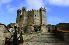 Castle Under Clear Blue Sky stock image