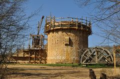 Free Castle Under Construction, Guedelon, France Royalty Free Stock Photos - 144729428