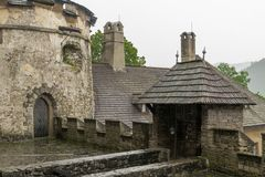 castle on upper yard royalty free stock images