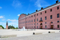 Castle of Uppsala, 1540. Sweden Stock Photography