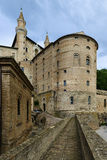 Castle Urbino Italy Royalty Free Stock Photography