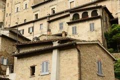 Castle Urbino Italy Stock Photography