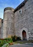 Castle Ursino of Catania Stock Photography