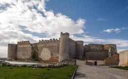 Castle of Urueña Stock Photography