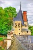 Castle Usse στην κοιλάδα της Loire, Γαλλία Στοκ Φωτογραφίες