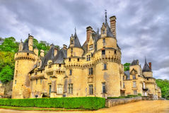 Castle Usse στην κοιλάδα της Loire, Γαλλία Στοκ εικόνα με δικαίωμα ελεύθερης χρήσης