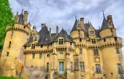 Castle Usse στην κοιλάδα της Loire, Γαλλία Στοκ φωτογραφίες με δικαίωμα ελεύθερης χρήσης