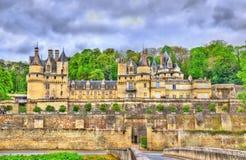 Castle Usse στην κοιλάδα της Loire, Γαλλία Στοκ Φωτογραφία