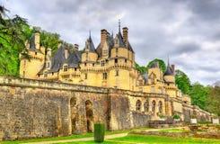 Castle Usse στην κοιλάδα της Loire, Γαλλία Στοκ εικόνες με δικαίωμα ελεύθερης χρήσης