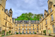 Castle Usse στην κοιλάδα της Loire, Γαλλία Στοκ φωτογραφία με δικαίωμα ελεύθερης χρήσης